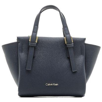Calvin Klein tmavě modrá elegantní kabelka M4RISSA Mini Tote