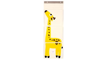 3 SPROUTS Organizér na zeď Žirafa