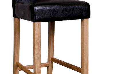 Sada 2 černých barových židlí House Nordic Boden - doprava zdarma!
