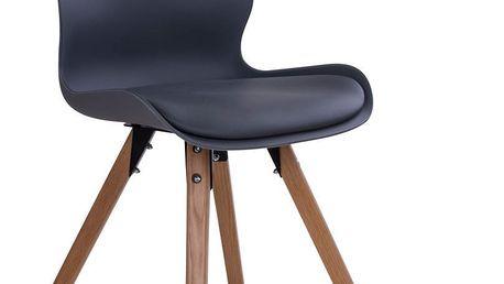 Sada 2 šedých židlí House Nordic Rana - doprava zdarma!