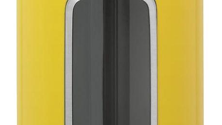 Žlutá dóza s okénkem Brabantia, 1,4 l