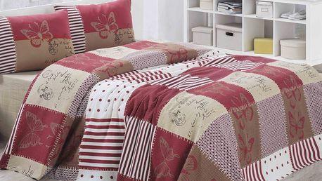 Lehký přehoz přes postel Butterly, 200 x 230cm
