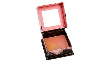 Benefit Sugarbomb 12 g pudr 4v1 - peach + rose + shimmering pink + soft plum W