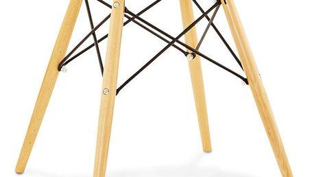 Bílá jídelní židle Kokoon Design Strata - doprava zdarma!