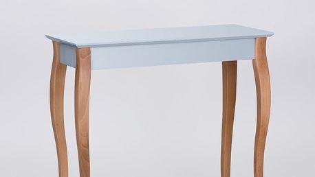 Světle šedý odkládací stolek Ragaba Console,délka85cm - doprava zdarma!