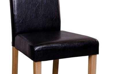 Sada 2 černých židlí House Nordic Mora - doprava zdarma!