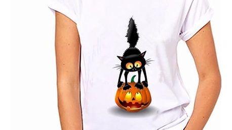 Dámské tričko s motivy kočiček - 253, velikost 5