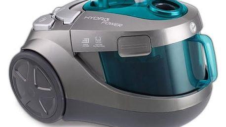 Vysavač podlahový Hoover HYDROPOWER HYP1630 011 zelený/titanium