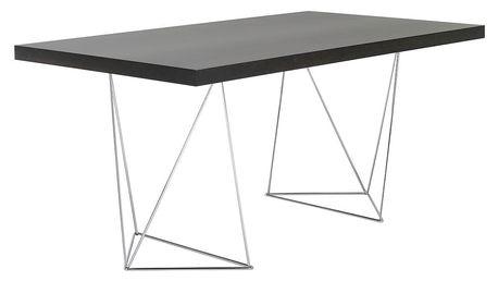 Tmavě hnědý stůl TemaHome Multi, 180cm - doprava zdarma!