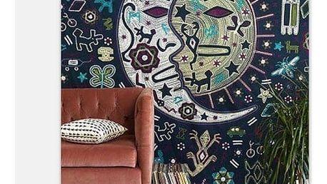 Barevná tapiserie na zeď 150 x 130 cm - 3 - dodání do 2 dnů