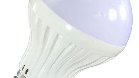 Žárovka s pohybovým senzorem - bílá - B22