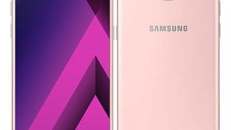 Mobilní telefon Samsung A5 (2017) (SM-A520FZIAETL) růžový