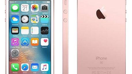 Mobilní telefon Apple iPhone SE 128 GB - Rose Gold (MP892CS/A) Software F-Secure SAFE 6 měsíců pro 3 zařízení (zdarma) + Doprava zdarma