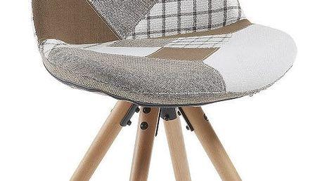 Jídelní židle La Forma Lars Patchwork - doprava zdarma!