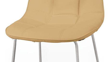 Jídelní židle Sveva, cappuccino - doprava zdarma!
