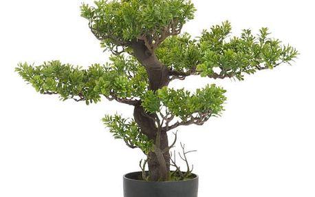Umělá bonsai J-Line, výška52cm - doprava zdarma!