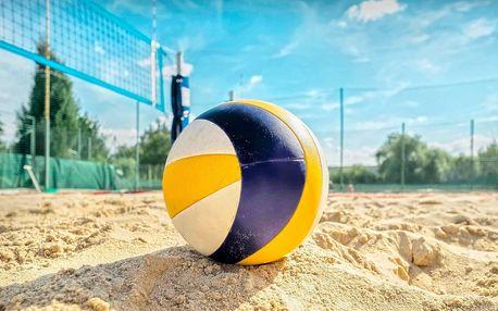 Víkendový pronájem hřiště na plážový volejbal