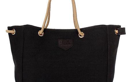 Ležérní kabelka přes rameno - Černá