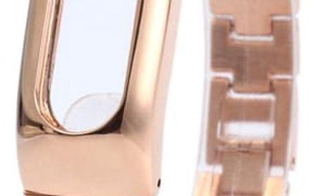 Luxusní náhradní náramek pro chytré hodinky - Zlatá barva