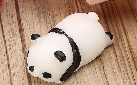 Antistresová mačkací mini pandička