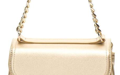 Fornarina zlatá kabelka Iris-Gold Mirror PU Bag
