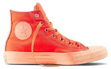 Converse oranžové kotníkové tenisky CTAS II Hi Hyper Orange/Sunset Glow