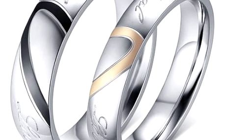 Prsteny z nerezové oceli pro páry