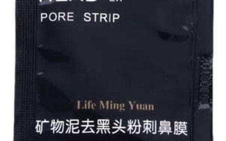 Černá slupovací maska proti černým tečkám - 1 kus