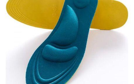 Měkké vložky do bot s polštářky