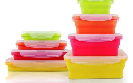Sada 4 skládacích misek na jídlo Jocca Tutti Frutti