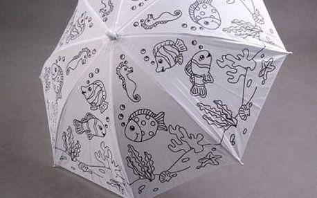 Vymaluj si svůj deštník
