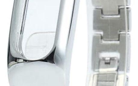 Luxusní náhradní náramek pro chytré hodinky - Stříbrná barva