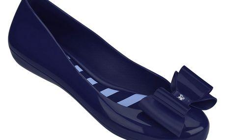 Zaxy baleríny Pop Bow Fem Blue, modré