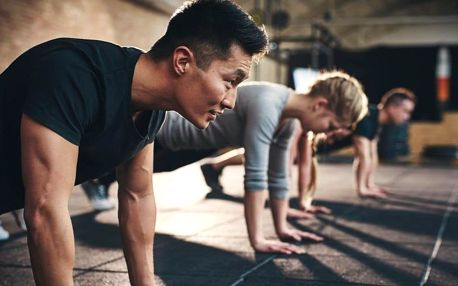 Trénuj a bav se - 4týdenní fitness kurz pro muže