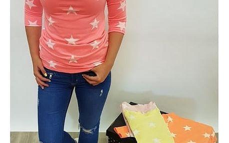 Dámské tričko s hvězdičkami Adrienne