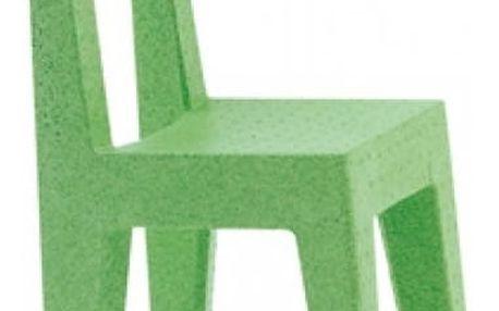 Dětská zelená židle Magis Seggiolina Pop - doprava zdarma!