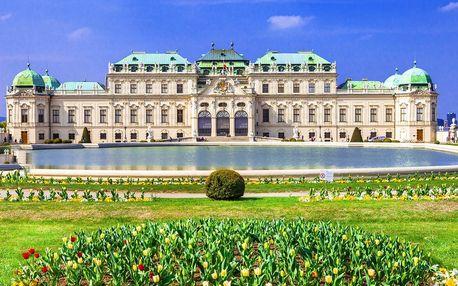 Pobyt pro 2 ve 4* hotelu v krásné Vídni