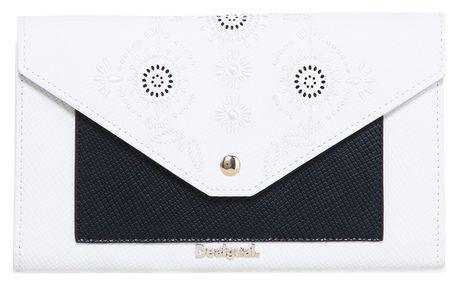 Desigual černo-bílá peněženka Lengueta New Vanesa