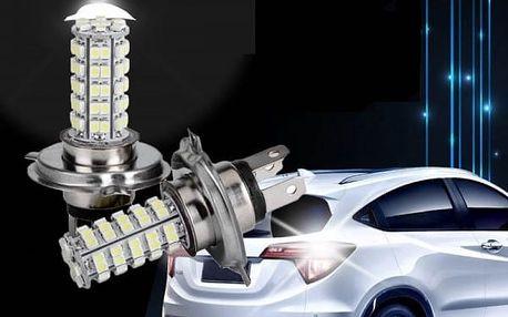 LED žárovka pro automobil - H1/H3/H4/H7 - Bílá - H7