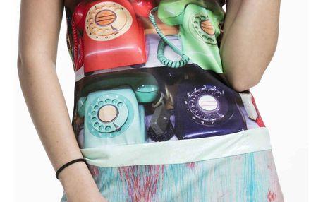 Culito from Spain barevné šaty Telefono
