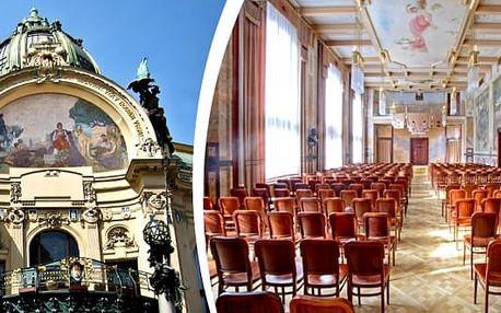 Nejznámější melodie Mozarta & Vivaldiho v Grégrově sálu Obecního domu 14. srpna a 15. září 2017 v 18. hodin. Koncert hraje Dvořák Symphony Orchestra Prague v komorním obsazení s cembalem, sólovým zpěvem a sólovými houslemi.