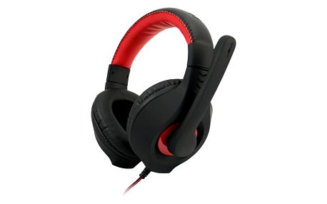 C-TECH Nemesis V2 GHS-14R, černá/červená