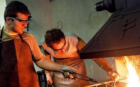 Kovářský kurz s výrobou vlastní podkovičky