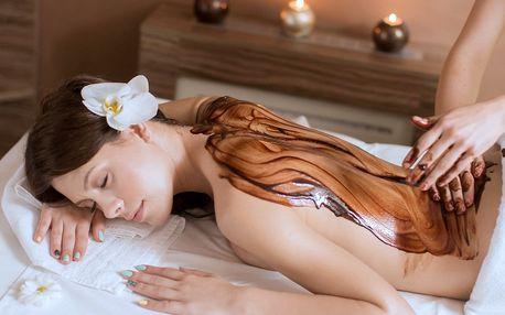 Masáže s vůní čokolády, levandule, medu i kokosu