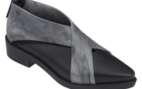 Melissa černé kotníkové boty X-Boot Black