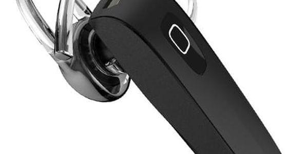 Bezdrátové bluetooth 4.0 handsfree sluchátko v černé barvě - dodání do 2 dnů