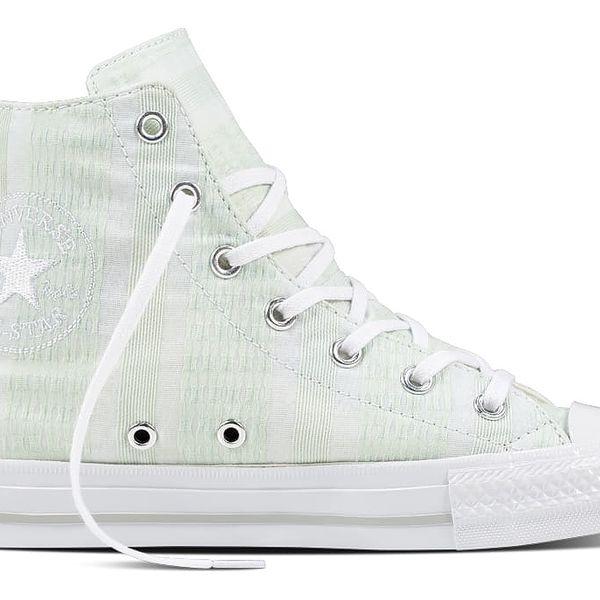 Converse zelené dámské tenisky CTAS Gemma HI Fiberglass/White/Mouse