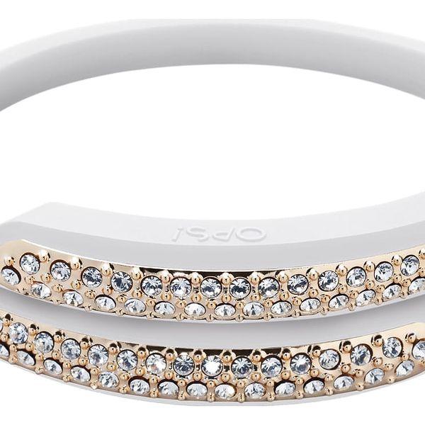 Ops! Objects náramek Diamonds bílý