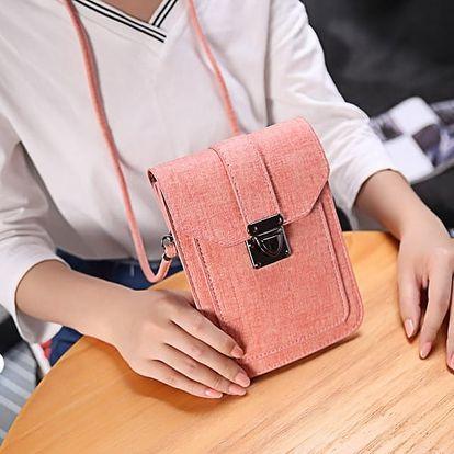 Malá taška vhodná do města - růžová