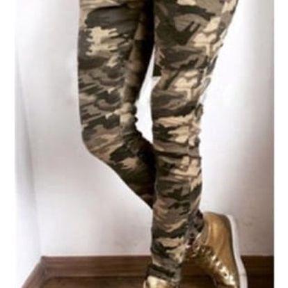 Dámské maskované kalhoty velikost: 5